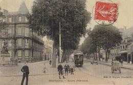 Charleville 08 -  Immeuble Monument - Triporteur - Oblitération Damvillers Meuse  1907 - Charleville