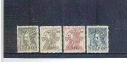 TSCHECHOSLOWAKEI , Czechoslovakia , 1948 , ** , MNH , Postfrisch , Mi.Nr. 535 - 538 - Cecoslovacchia