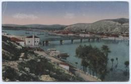 Albania - SKUTARI, Shkodra, 1917. K.u.K. Stamp, Feldpost WW1, Bojana River, Bridge - Albanie