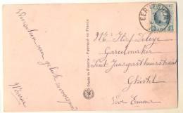 1p530: Fantasiekaartje : Verstuurd: N° 193: EERNEGHEM >  Ghistel - 1922-1927 Houyoux