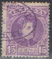 Sello 15 Cts Alfonso XIII Cadete, Carteria Municipal De FONELAS (Granada), Num 246 º - 1889-1931 Reino: Alfonso XIII