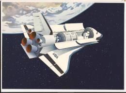N702 Spacelab Space Shuttle. Luraba 1981 Luzern. Cachet 23.9. 1981 - Espace