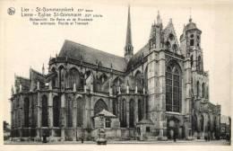 BELGIQUE - ANVERS - LIER - LIERRE - St-Gommaruskerk - Buitenzicht, De Apsis En De Kruisbeuk - Eglise St Grommaire. - Lier