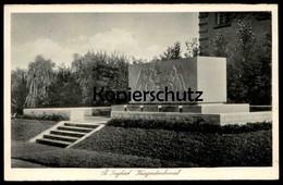 ALTE POSTKARTE ST. INGBERT KRIEGERDENKMAL 1940 SAAR SAARGEBIET Monument Engel Angel Ange Cpa Postcard AK Ansichtskarte - Saarpfalz-Kreis
