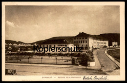 ALTE POSTKARTE ST. INGBERT REFORM. REALGYMANSIUM SAAR SAARGEBIET Deutsche Oberschule (handschritlich) Cpa Postcard AK - Saarpfalz-Kreis