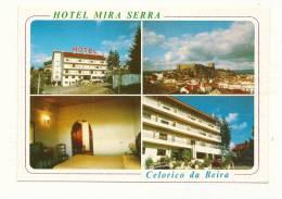 Cp, Commerce, Celorico Da Beira (Portugal) - Hotle Mira Serra, Multi-Vues - Commercio