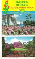 Garden Scenes - Beautiful Cypress Gardens, Florida  6 Detachable Post Cards - Etats-Unis