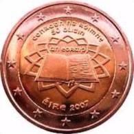 2 EURO COMMEMORATIVE  IRLANDE 2007 TRATE DE ROME  / NEUF / UNC - Irland