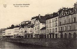 La Corrèze Illustrée - Tulle - Quai De Valon -  F F - I U - Tulle
