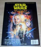 Star Wars Episode 1 The Phantom Menace Official Souvenir Edition Titan 1999 - Films