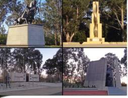 Canberra ANZAC Parade Memorials - Mounted Corps, Tobruk, Korea, Vietnam - Canberra (ACT)