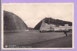 Belgique -  Canal Albert - La Grande Tranchée Et L'Ecluse à Lanaye - Belgique