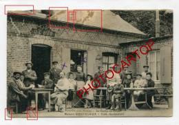 PUYS Pres De DIEPPE-Cafe Restaurant-AU CAMP DE CESAR-Maison BOUTELEUX-Animation-Commerce- - France
