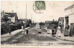 MAISONS ALFORT - Rue Suchet, Buisson Joyeux / CPA Animée - Maisons Alfort