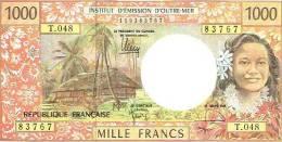 T.048 Nouvelle Caledonie Billet Bnaque Banlnote IEOM 1000 Francs Monnaie Money Signature 2011-12 UNE Neuve - Nouvelle-Calédonie 1873-1985