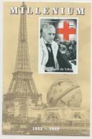 Alexander Fleming, Penicillin, Medicine,Microscope,  Pharmacy, Nobel Prize, Red Cross  Deluxe Sheet Chad - Medizin