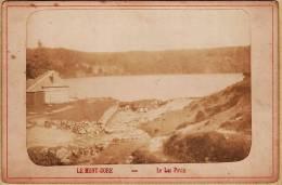 Photo ALBUMINE 1885s Besse En Chandesse Deversoir Du Lac PAVIN LE MONT DORE ¤ 63 Puy De DOME  Auvergne - Antiche (ante 1900)