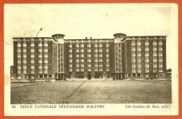 CPA 94 ALFORT - ECOLE NATIONALE VETERINAIRE Cité Scolaire (E. Bois, Architecte) ° R. Mathiot - Architecture - Maisons Alfort