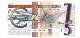 ECCO L'EURO OTTOBRE 1997- MARZO 1998 BUONO DA 3 LOTTO 1084 - [ 2] 1946-… : Repubblica