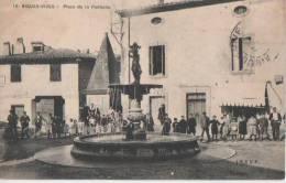 .AIGUES.VIVES( Place De La Fontaine ) - Aigues-Vives