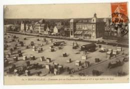 BERCK PLAGE  - Panorama Pris En Cerf-Volants Gomès Et Cie à 150 Mètres De Haut. - Berck