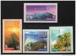 Chine : (52) 1996 Hong Kong - Montagnes De HK SG837/40** - 1997-... Région Administrative Chinoise