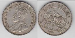 **** AFRIQUE DE L´EST - EAST AFRICA - 1 SHILLING 1925 GEORGE V - ARGENT - SILVER **** EN ACHAT IMMEDIAT !!! - British Colony