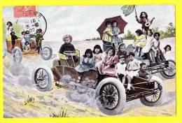 * Bébés Multiples - Babies - Baby (Fantaisie - Fantasy) * (serie 363) Course, Voiture, Car, Auto, Wagen, Oldtimer, CPA - Bebes