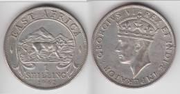 **** AFRIQUE DE L´EST - EAST AFRICA - 1 SHILLING 1942 GEORGE VI - ARGENT - SILVER **** EN ACHAT IMMEDIAT !!! - British Colony