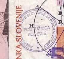 SLOVENIJA  KOČEVJE -GOTTSCHEE   10,20,50,100 TOLAR - Slovenië