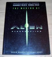 The Making Of Alien Resurrection Rachel Aberly & Andrew Murdock Titan Books 1997 - Films
