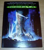 The Making Of Godzilla Rachel Aberly & Volker Engel Titan Books 1998 - Films