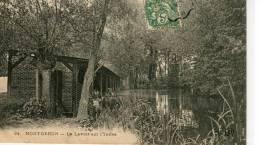 CPA 91 MONTGERON LE LAVOIR SUR L YERRES 1907 - Montgeron