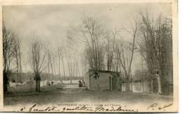 CPA 91 MONTGERON  LAVOIR SUR L YERRES 1902 - Montgeron