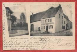 67 - GRUSS Aus HERBITZHEIM - Evang. Kirche - Wirtschaft Aug. STOECKEL - Non Classificati