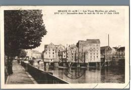 Meaux - Les Vieux Moulins Sur Pilotis - France 1930s - Meaux