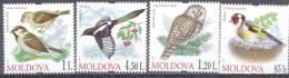 2010. Birds Of Moldova, Set, Mint/** - Moldavia