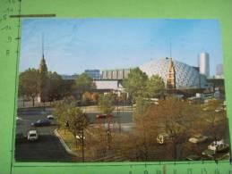 435) Paris :porte De Versailles;parc Expositions,palais Des Sports;dufau,parjadis De La Riviere:voitures:1 Pliure - Non Classés