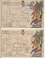 WWI 1918 Posta Militare 122 - 7^ Reggimento Fanteria - Guerre 1914-18