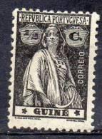 PORTUGUESE GUINEA 1914 Ceres  1/2c. - Black    MH - Portuguese Guinea
