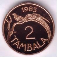 @Y@   Malawi  2 Tambala 1985  PROOF       (2213 ) - Malawi