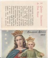 1957 CALENDARIETTO SALESIANO - Calendari