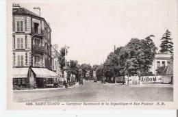 SAINT CLOUD 4508 CARREFOUR BOULEVARD DE LA REPUBLIQUE ET RUE PASTEUR (CAFE DES SPORTS) - Saint Cloud