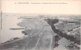 44 SAINT NAZAIRE VUE GENERALE N°1 LA RADE LE PORT ET LE VIEUX SAINT NAZAIRE - Saint Nazaire