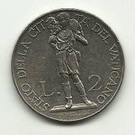 1934 - Vaticano 2 Lire, - Vatikan