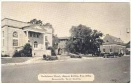 Masonic Temple,Church,Bennettsvil Le,SC,20-40s - Bennetsville