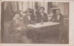 21780 Carte Photo, 11 Oct 1921, Sainte Anne Les Anvers . Bar Café Biere- - Belgique