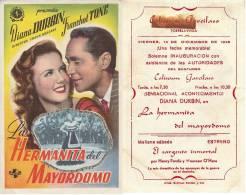 LOCANDINA PUBBLICITARIA CINEMA SPAGNA - FILM LA HERMANA DEL MAYORDOMO -CON D.DUBIN - Plakate & Poster