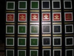 Collection Alpha De Timbres. 86 Pays, 971 Timbres + Histoire De La Philatélie 3 Albums Pour 593 Pages Collection De 1980 - Timbres