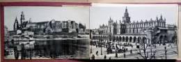 POLOGNE KRAKOW  CRACOVIE  CARNET DE 10  VUES DE CRACOVIE  ANNEES 1910 /1920 BON ETAT - Pologne
